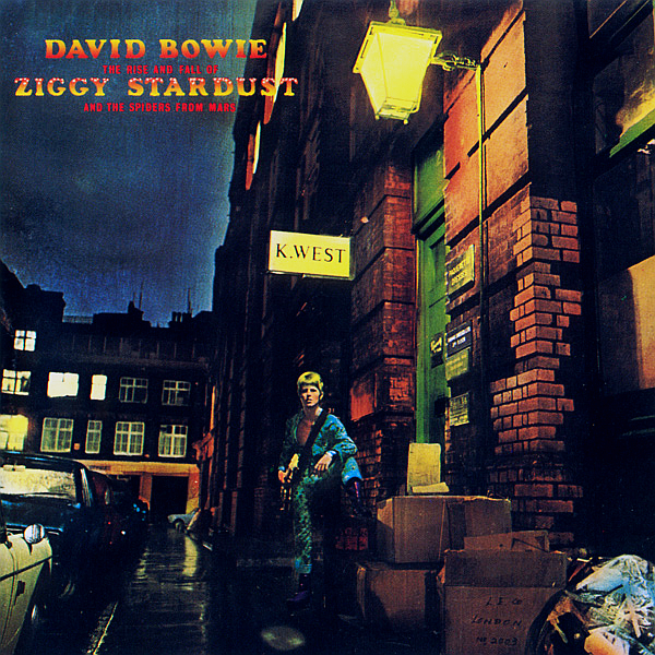 David Bowie 40th anniversary 2012 remaster of 'The Rise and Fall of Ziggy Stardust and the Spiders from Mars'