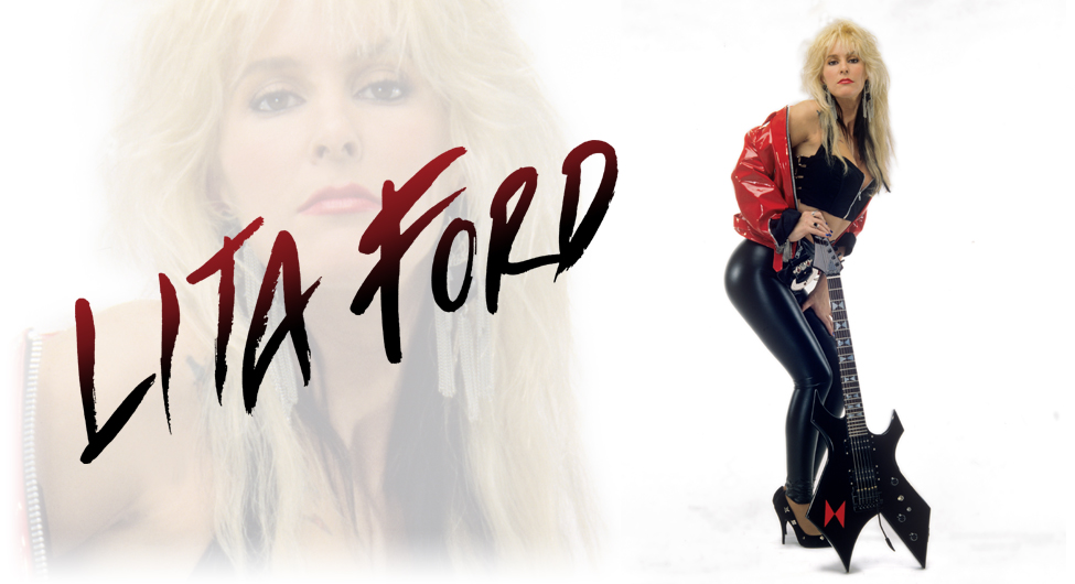 """Lita Ford to release new album """"Living Like A Runaway"""""""