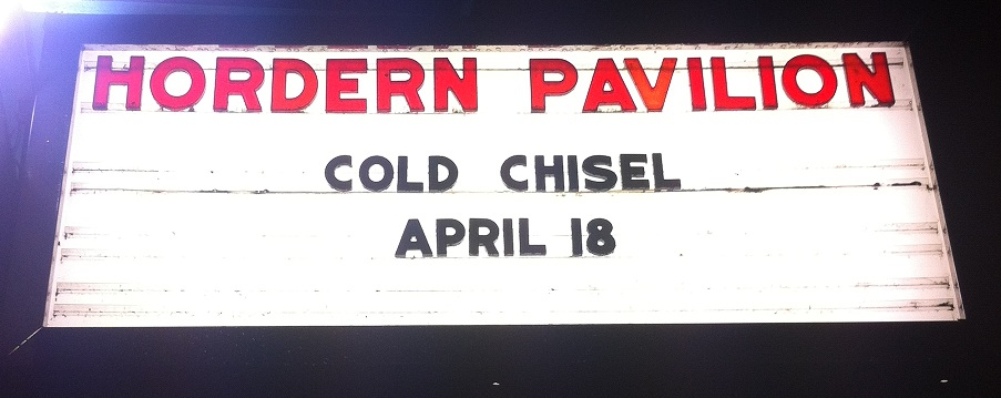Cold Chisel – Hordern Pavilion Sydney – April 18
