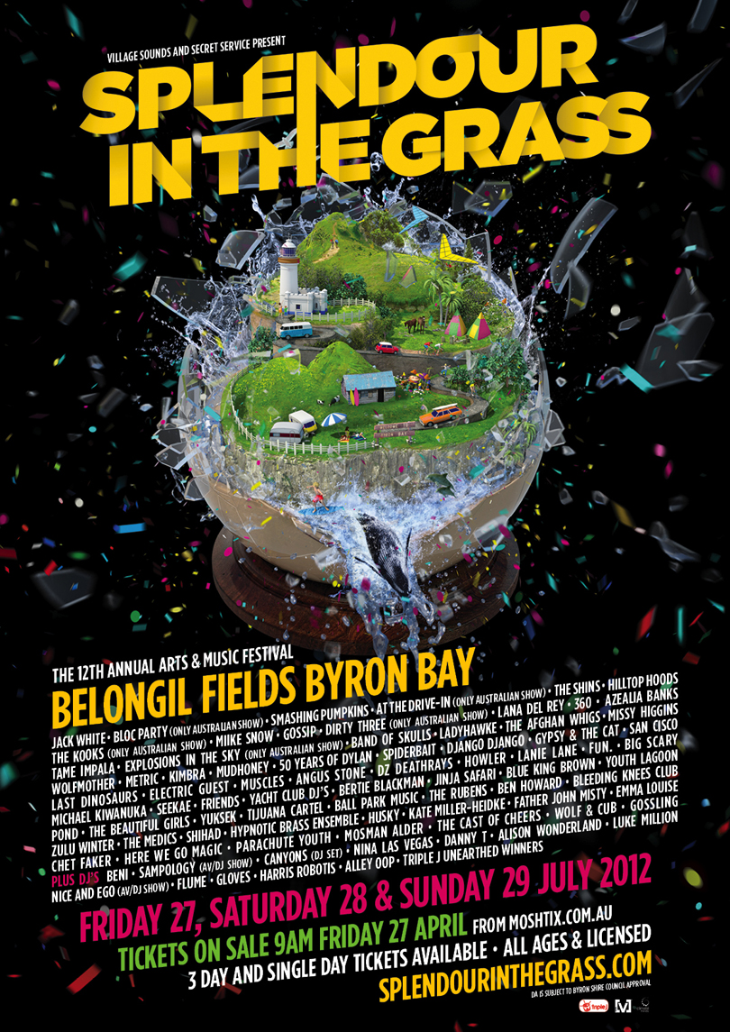 Splendour In The Grass 2012 – lineup announced