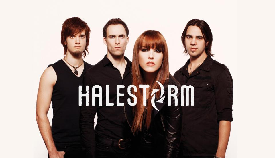 Lzzy Hale & Arejay Hale of Halestorm