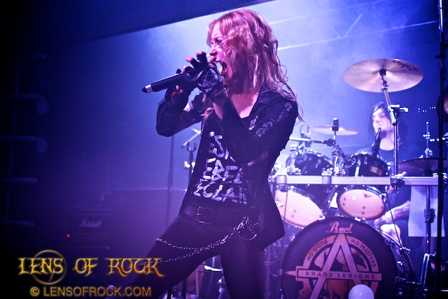 Arch Enemy – Billboard, Melbourne, Australia – 01 May 2012