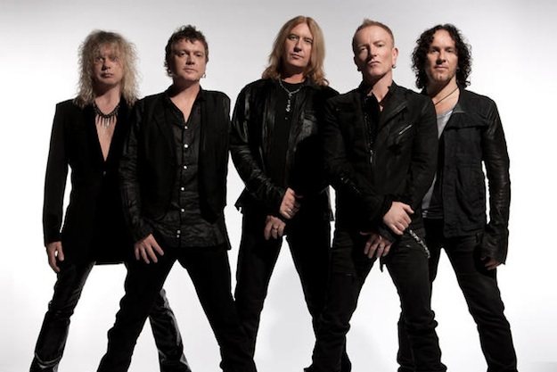 Def Leppard club gig at House Of Blues, West Hollywood – video footage!