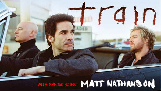 Train & Matt Nathanson – Sydney Opera House – June 7