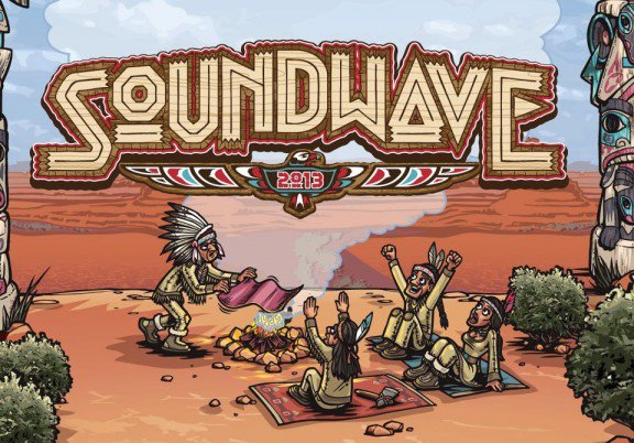 Soundwave Festival – Olympic Park, Sydney – 24 February, 2013