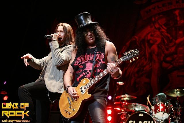 Slash featuring Myles Kennedy – HiSense Arena, Melbourne, Australia – 26 August 2012