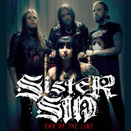 Sister Sin releases 'End Of The Line' digital single