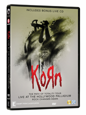 KORN: The Path of Totality, Live at the Hollywood Palladium, DVD/Blu-ray & live CD release