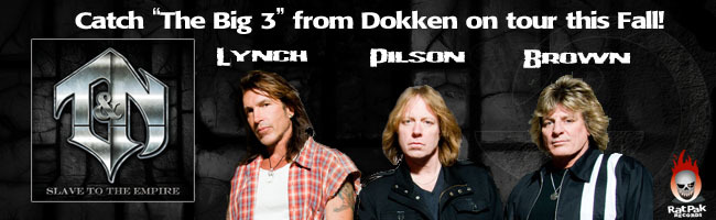 "T&N 'Slave To The Empire' featuring ""the big 3"" from Dokken to be released October 31!"
