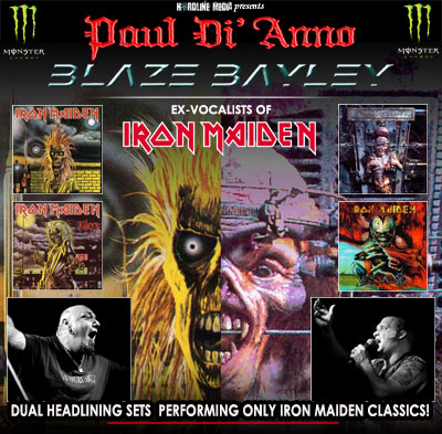 Paul DiAnno and Blaze Bayley Australian tour