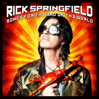 "RICK SPRINGFIELD to release in Europe his new album ""Songs from the End of the World"" on Frontiers Records"