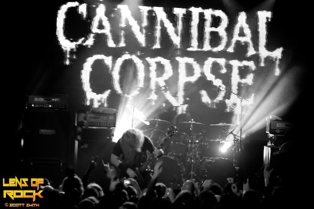 Cannibal Corpse – Billboard, Melbourne, Australia – 05 October 2012