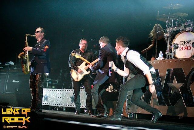 INXS – Rod Laver Arena, Melbourne Australia – 20 October 2012