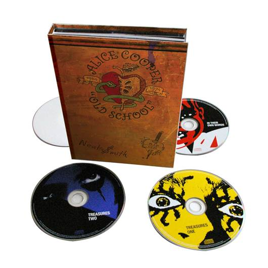 ALICE COOPER Old School 1964-1974  Special Edition out October 29th