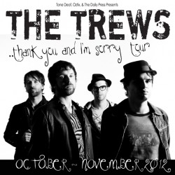 The Trews – Notes at Newtown, Sydney – 25 October 2012