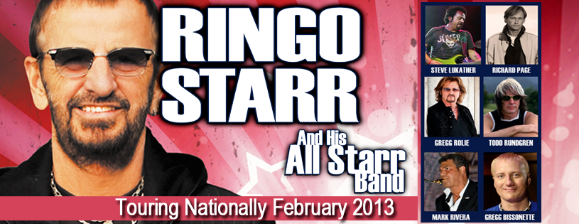 Ringo Starr All Star Band Australian tour dates