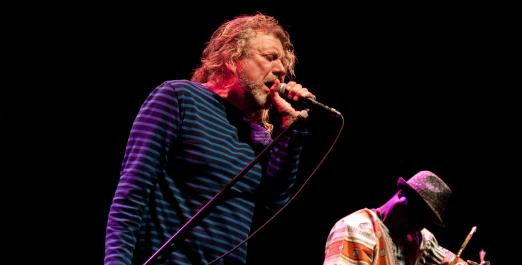 Robert Plant presents Sensational Space Shifters in Australia