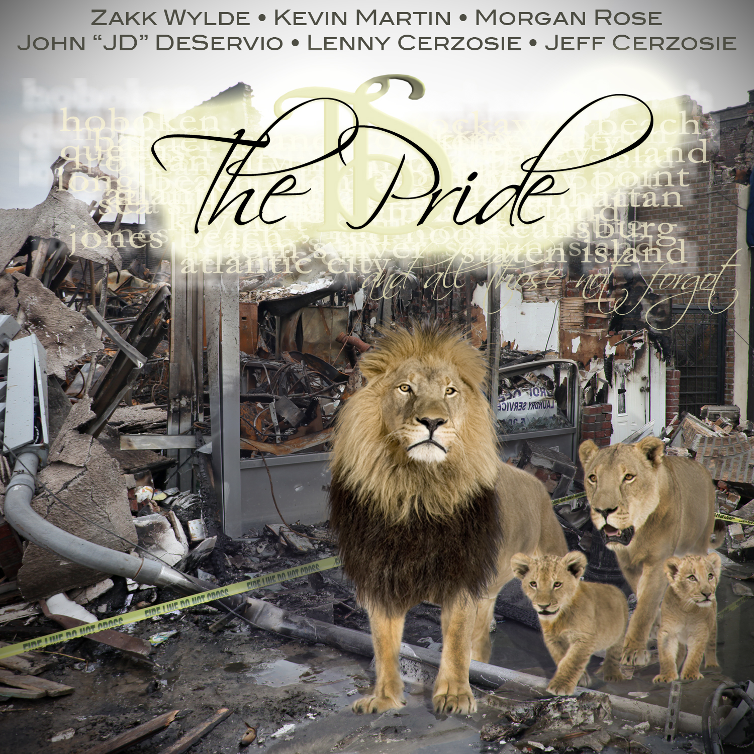 "PRE-ORDER ""THE PRIDE"" FEATURING ZAKK WYLDE, KEVIN MARTIN, MORGAN ROSE, JD DESERVIO & THE INFINITE STAIRCASE"