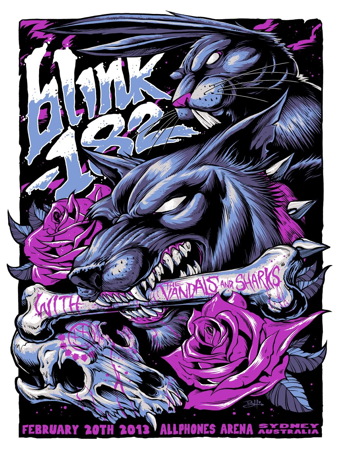 Blink-182 – Allphones Arena, Sydney – February 20, 2013