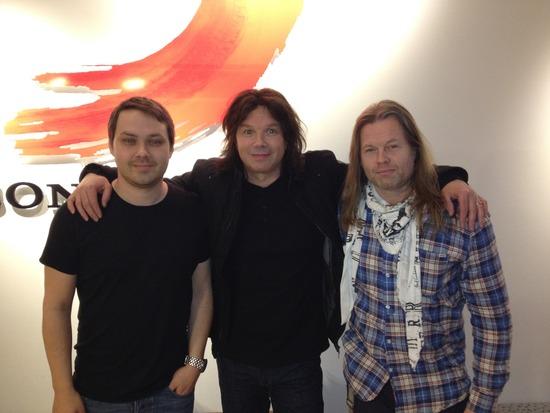 Picture: Markus Tagaris (Gain), John Norum, Magnus Lundbäck (Gain)