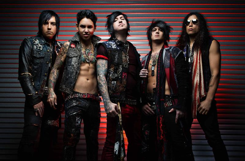 "Escape The Fate Post ""You're Insane"" Video Teaser"