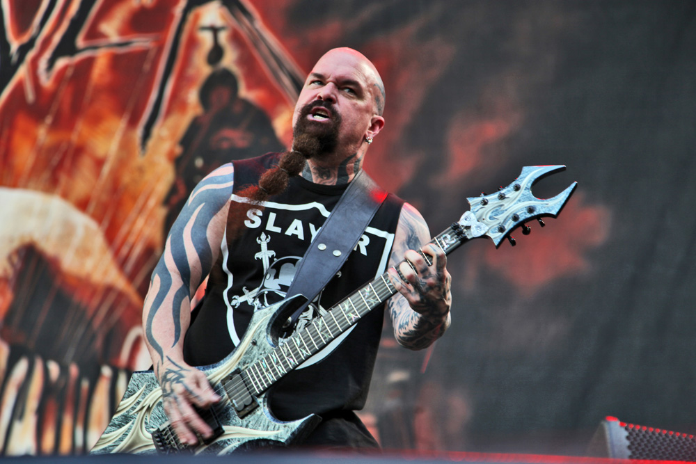 Slayer - Photo by Annette Geneva