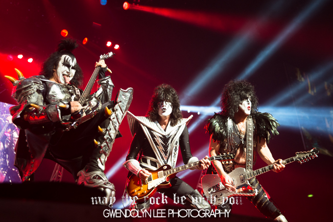 Kiss, Mötley Crüe and Thin Lizzy – Allphones Arena, Sydney – March 10, 2013