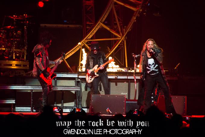 Mötley Crüe – Allphones Arena, Sydney – March 10, 2013
