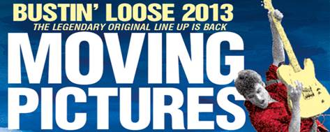 Moving Pictures Bustin' Loose in Sydney and Melbourne!