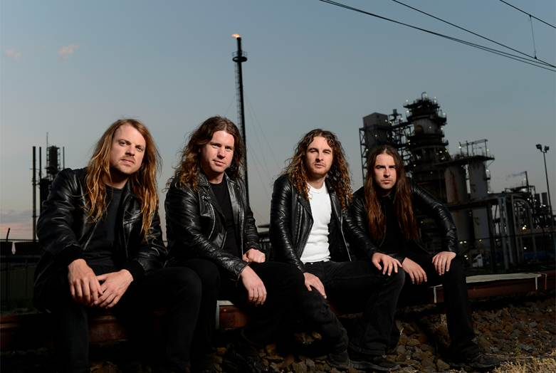 Airbourne take the 'Black Dog Barking' on tour