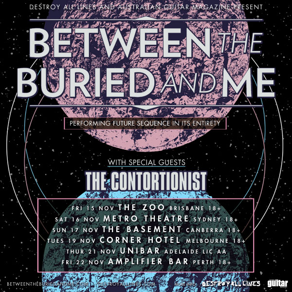Between The Buried And Me: Announce National Tour For November