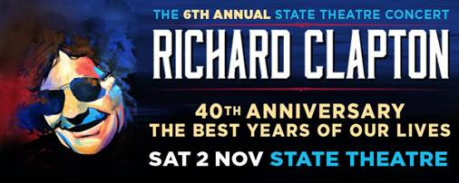 Richard Clapton celebrates 40th Anniversary at the State Theatre!
