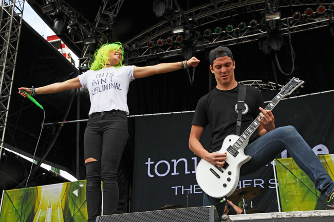 Tonight Alive - Photo by Annette Geneva