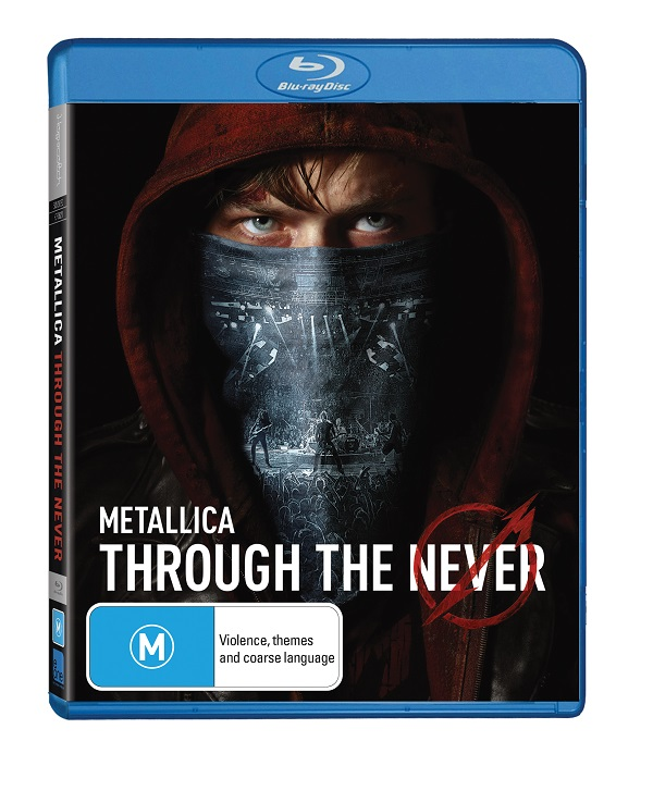 WIN a Blu-Ray copy of METALLICA's 'Through The Never' (CLOSED)