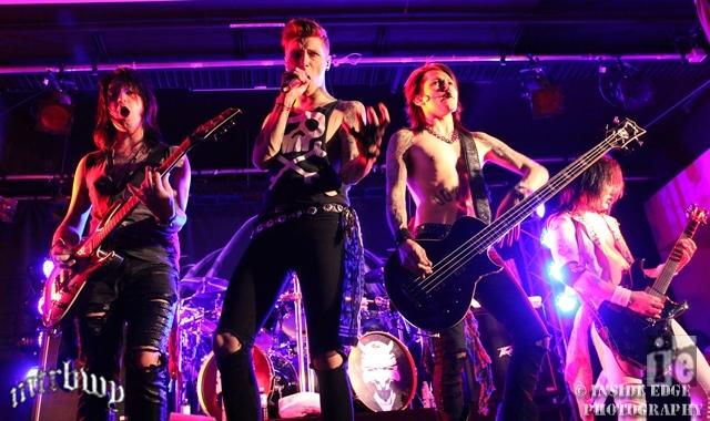Black Veil Brides & Heaven's Basement – Arrow on Swanston, Melbourne – February 26, 2014