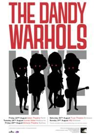 THE DANDY WARHOLS announce Australian Tour