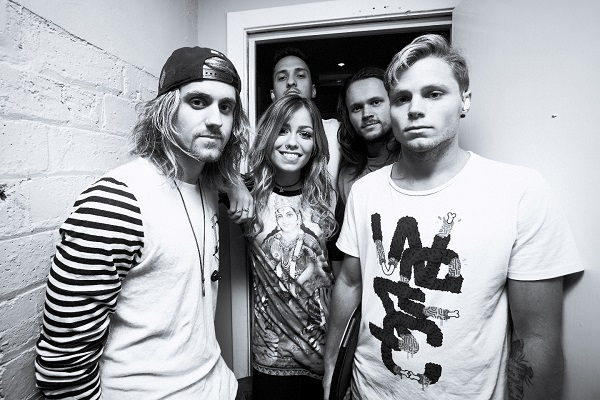 TONIGHT ALIVE to release new single 'The Edge.' to be featured in the new movie The Amazing Spiderman 2: Rise Of Electro