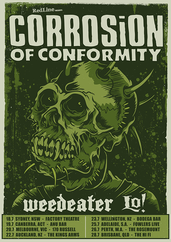Corrosion of Conformity: Tour Canceled