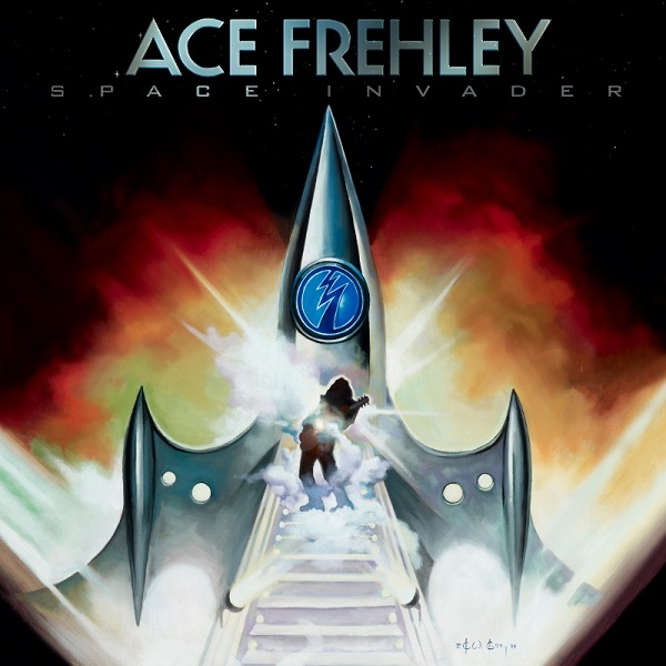 Ace Frehley's 'Space Invader' Artwork by Ken Kelly Revealed