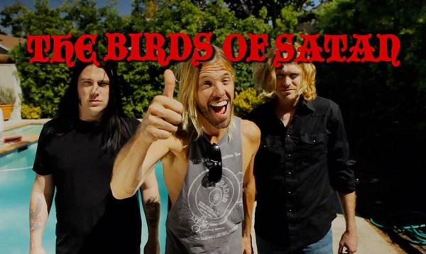 Taylor Hawkins of The Birds Of Satan