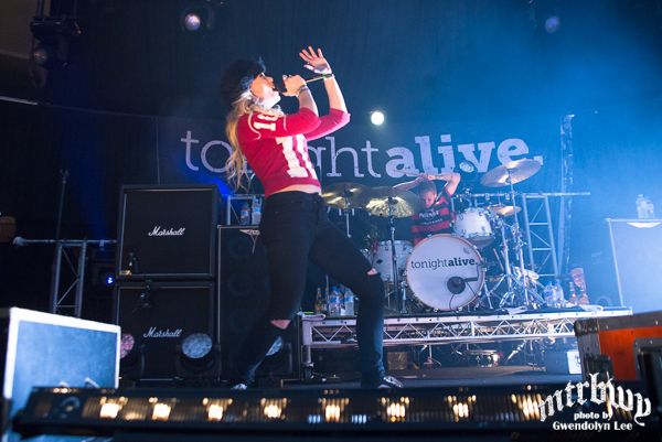 You Me At Six & Tonight Alive – The Roundhouse, Sydney – September 6, 2014