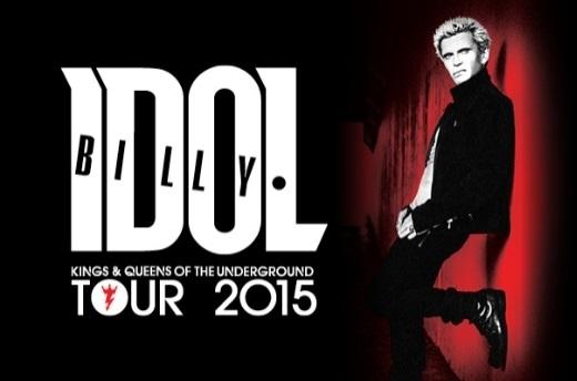 BILLY IDOL announces 2015 Australian tour