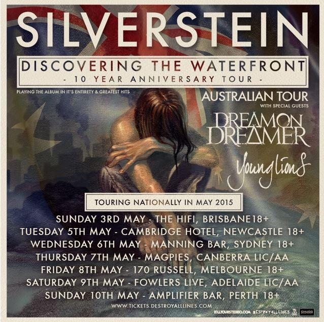 SILVERSTEIN announces Australian Tour 2015
