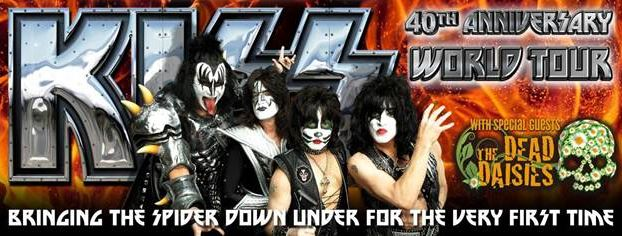 KISS announce 40th Anniversary Australian Tour