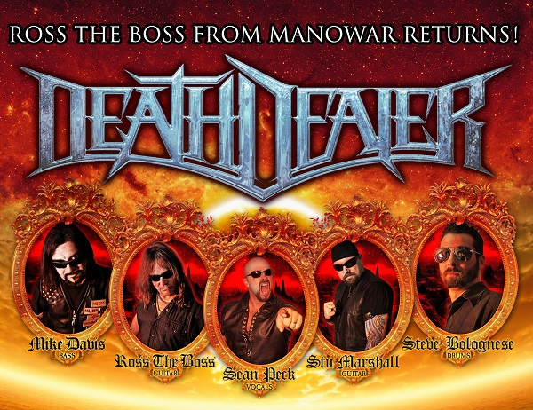 DEATH DEALER Announce Aust/NZ Tour for Sept 2015 – Featuring Ross The Boss, Stu Marshall & Sean Peck