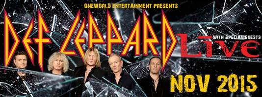 DEF LEPPARD announce Australian tour dates