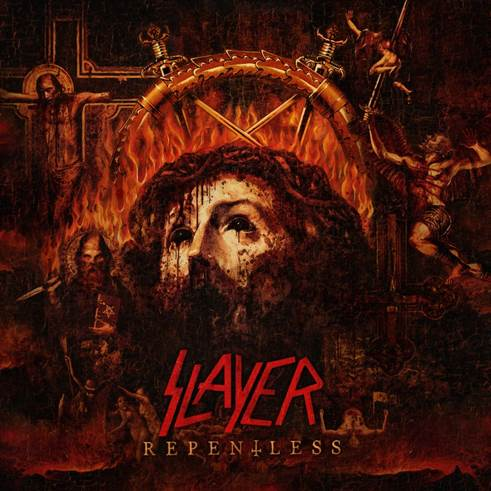 SLAYER reveal 'Repentless' Album Artwork; Title Track To Get Digital Global Release Friday, June 19th!