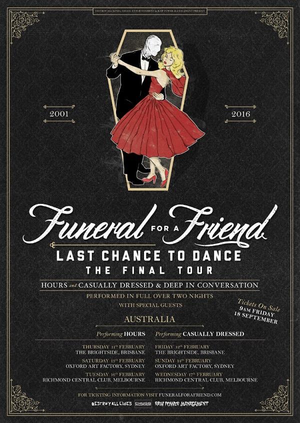 Funeral For A Friend announce their farewell tour