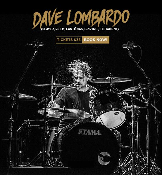 Dave Lombardo: Announces Australian Tour for October 2015