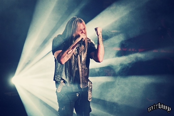 Sebastian Bach – The Metro Theatre, Sydney – September 23, 2015